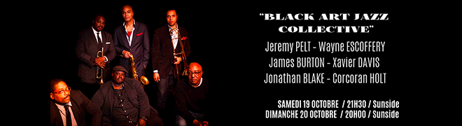 Black Art Jazz Collective 19 20 oct