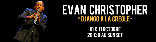 Evan CHRISTOPHER �Django � la Cr�ole�