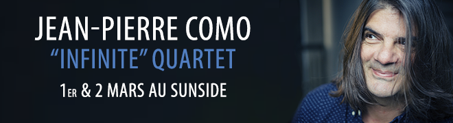 "Jean-Pierre COMO ""Infinite"" Quartet"