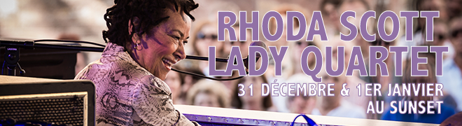 "Rhoda SCOTT Lady Quartet ""The Happy Birthday Tour"""